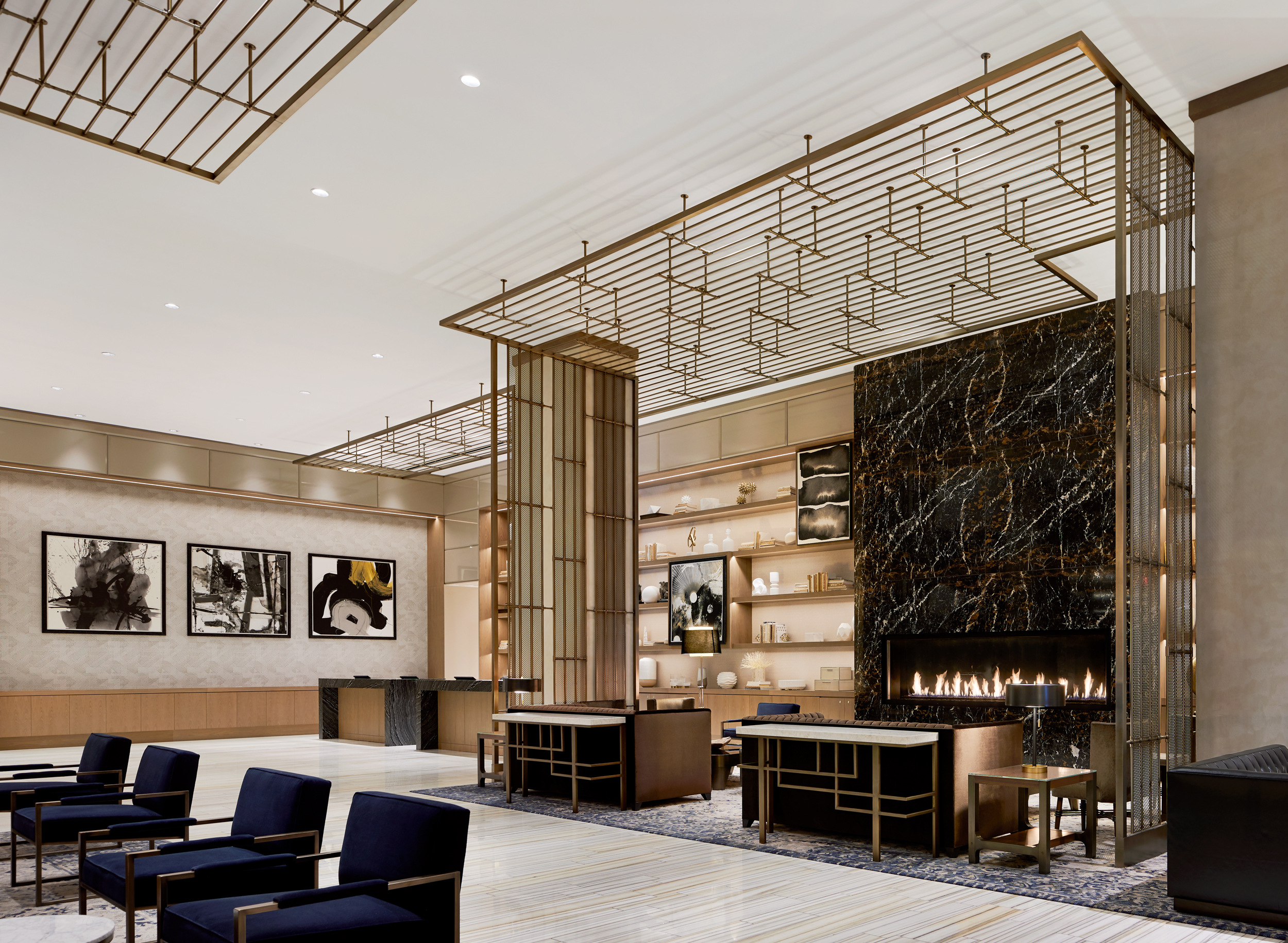 JW Marriott Nashville, Interior Design by Stonehill Taylor