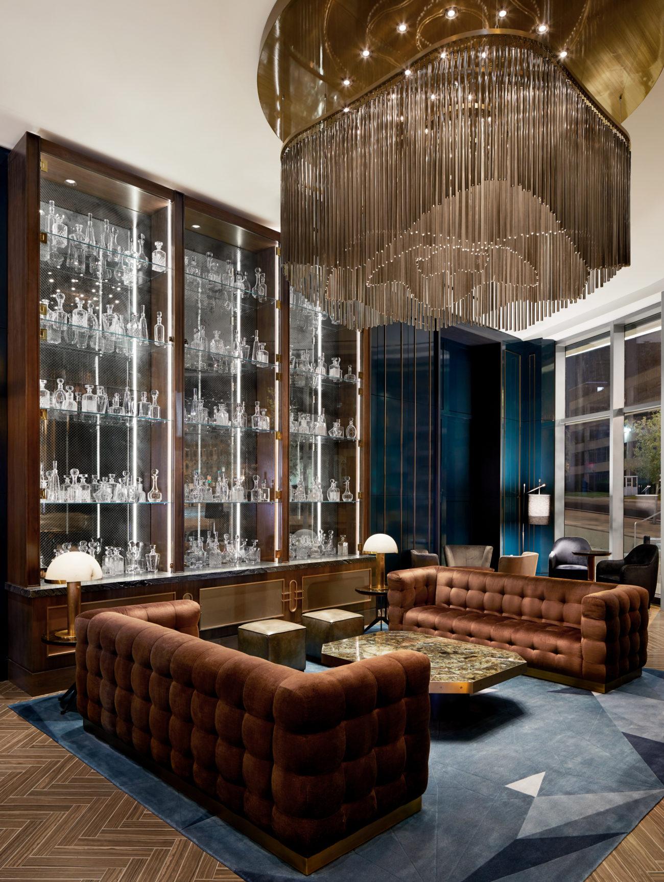 JW Marriott Nashville, Interior Design by Stonehill Taylor